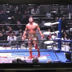 全日本プロレス両国国技館大会をテレビ観戦して…