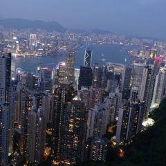 【香港旅行記】ビクトリアピークの混雑ぶり